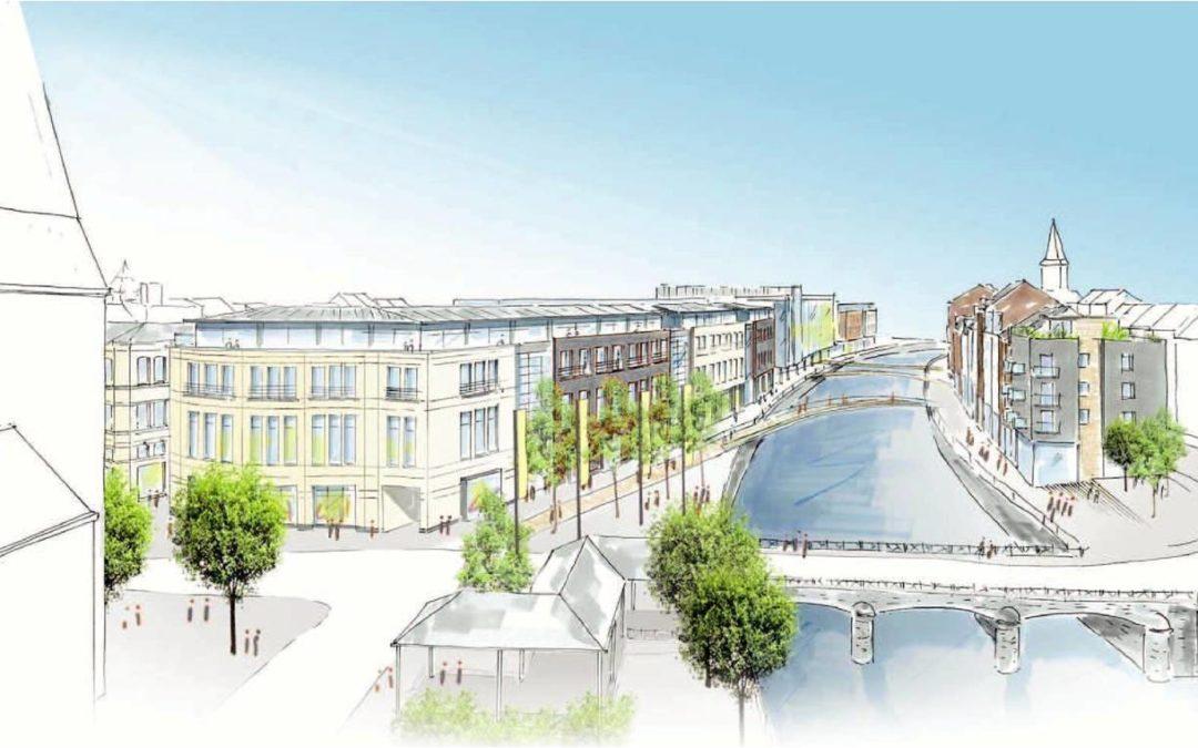 Projet Citymall : Ecolo-Verviers attend un geste du promoteur.