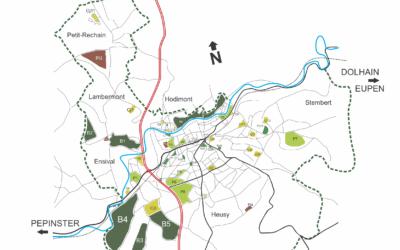 """Ecolo Verviers défend une """"Route des Parcs"""" pour valoriser nos espaces verts !"""