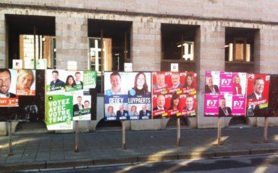 Affichage électoral : réponse de la Ministre De Bue au recours d'Ecolo