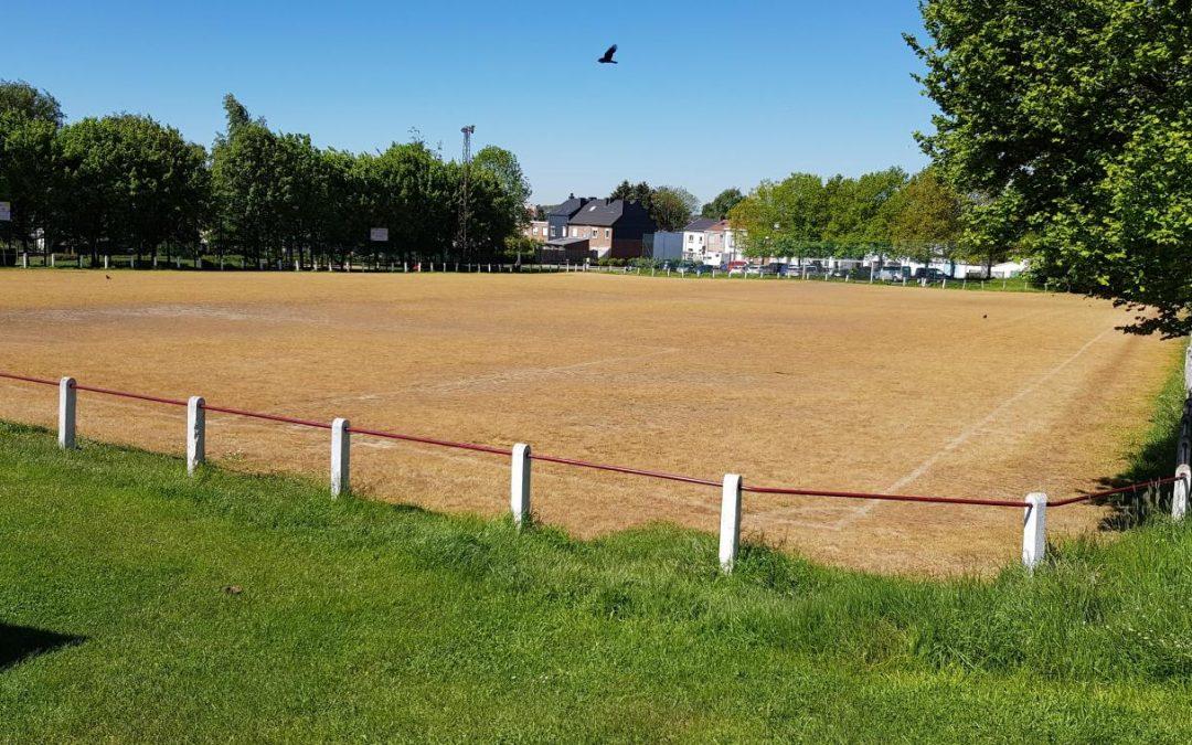 Glyphosate sur un terrain de football à Stembert : un scandale sanitaire et écologique !