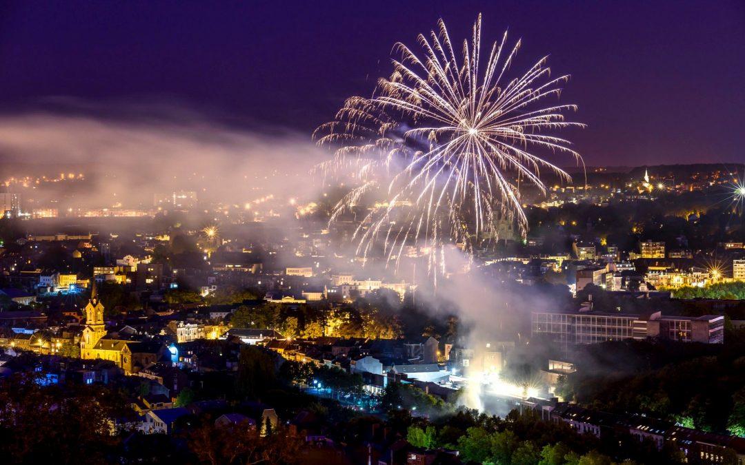 Bonne fête nationale ce 21 juillet [photos du feu d'artifices]