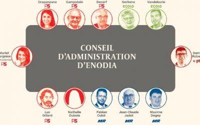 Les administrateurs Ecolo d'Enodia réclament l'envoi d'un commissaire du Gouvernement