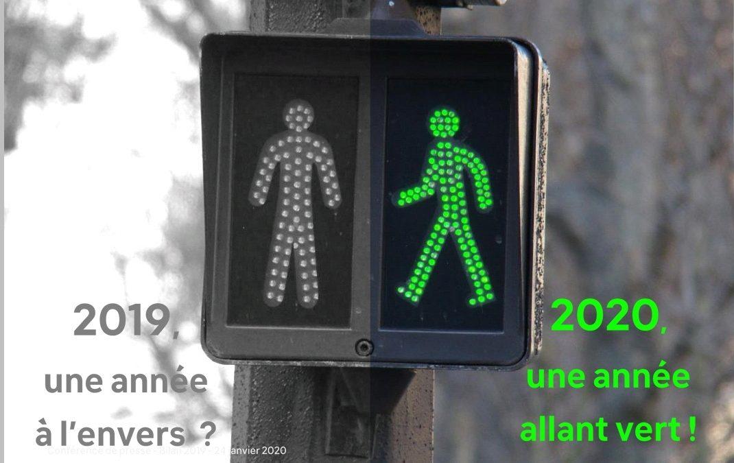 Bilan 2019 de la majorité PS-MR-NV et priorités Ecolo Verviers 2020