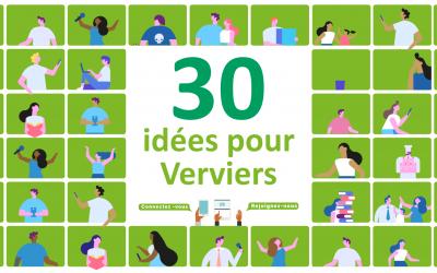 30 idées prioritaires à partager pour construire ensemble un vrai projet de ville